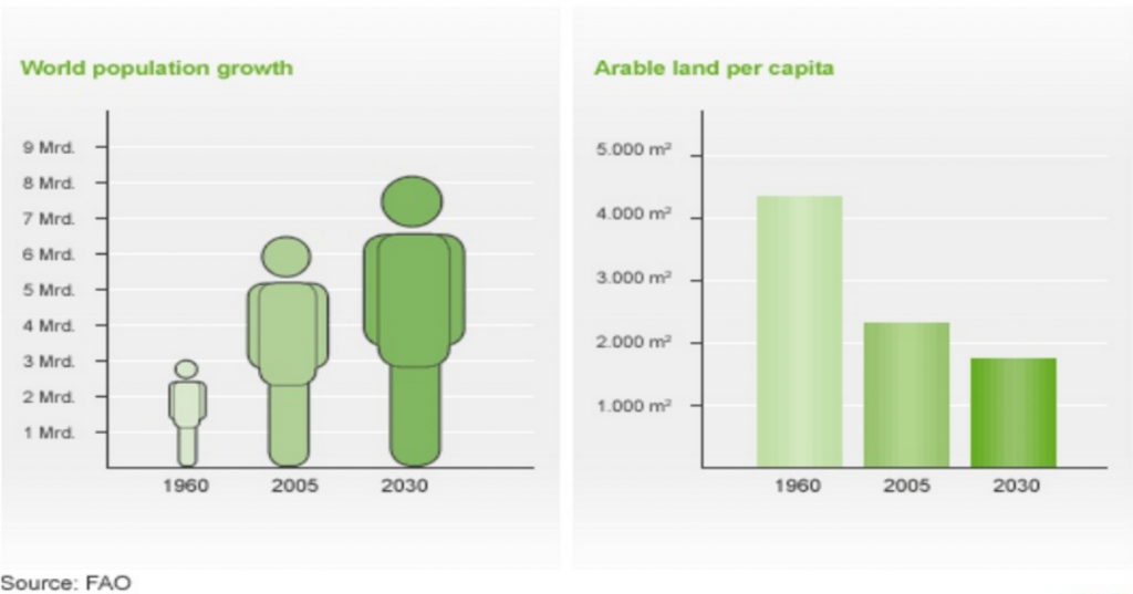 worldpopulationarablelandpercapita